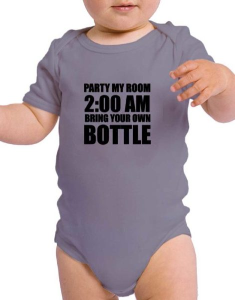 בגד לתינוק עם הדפסה