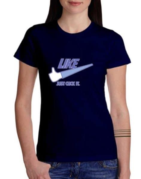 """חולצה אדירה עם """"LIKE"""""""