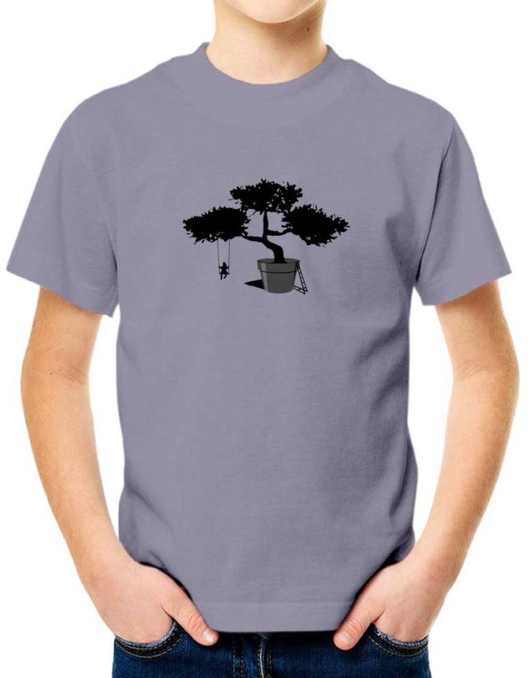 """חולצה מעוצבת """"עציץ - עץ"""""""