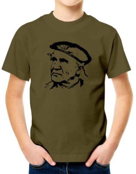 חולצת דוד בן גוריון עם כומתה