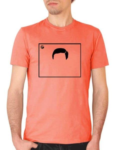 """חולצה נוסטלגית עם הדפס של """"הערוץ הראשון - חיים יבין"""""""