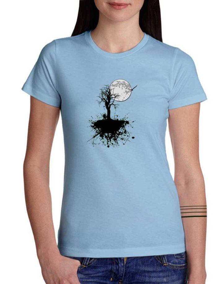 """חולצת גרפיטי """"עץ שפריץ"""""""