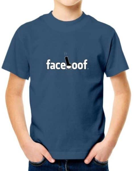 """חולצת פייסבוק לסטלנים """"FACEBOOF"""""""