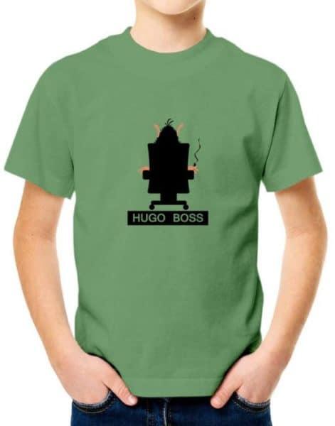 """חולצה אדירה עם הדמות המוסטלגית הוגו """"HUGO BOSS"""""""