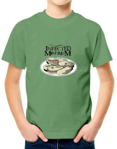 """חולצה מטורפת עם הדפס מחווה לאינפקטד """"INFECTED MAFRUM"""""""