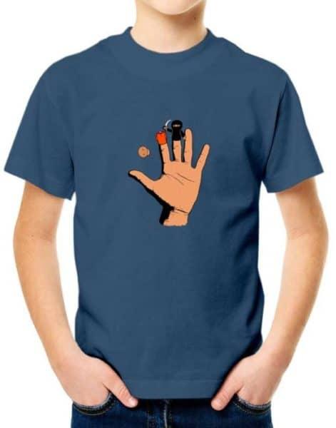 """חולצה מטורפת עם הדפס """"ידאעש"""""""
