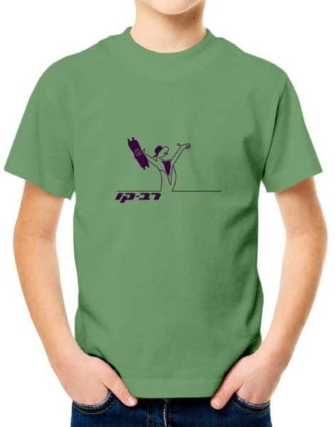 """חולצה אדירה עם ההדפס """"רב-קו"""""""