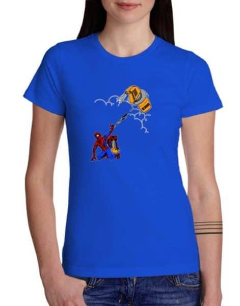 חולצת ספיידרמן מרוסס