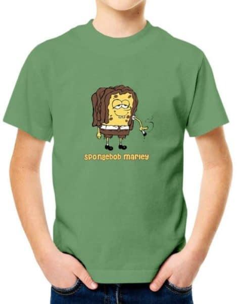חולצה למי שאוהב את בוב ספוג מארלי