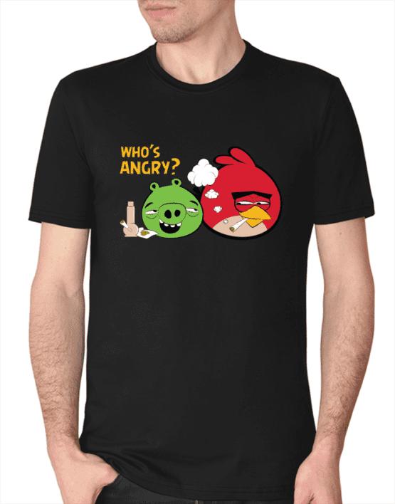 who's angry חולצת אנגרי בירדס