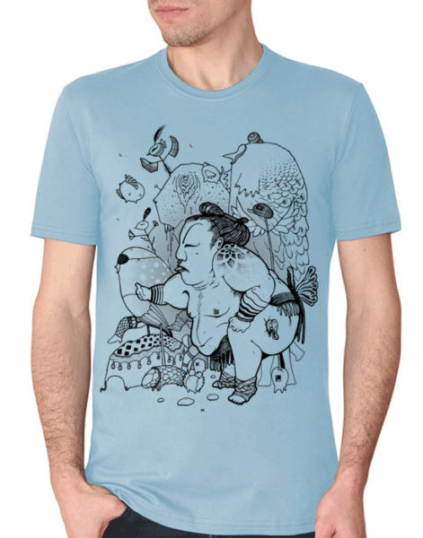 Psychedelic T shirt SUMO 2